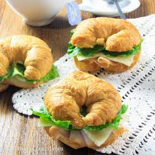 turkey croissant sandwiches simply home cooked