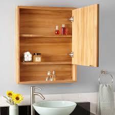 Teak Bathroom Storage 24 Bastian Teak Medicine Cabinet Teak Bathroom