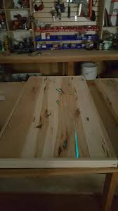 Glow In The Dark Table by Kennewick Windsor Plywood Uses Glopoxy For A Table Top U2013 Ecopoxy