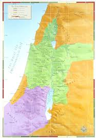 Map Of Israel Map Of The United Monarchy Showing The Kingdom Of Israel