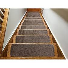 amazon com softy stair tread mats skid resistant rubber backing