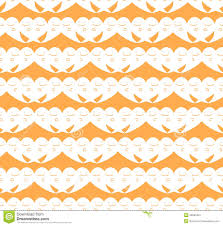 halloween ghost stencil vector seamless halloween cute ghost pattern background stock