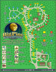 Sd Map Big Pine Campground Map