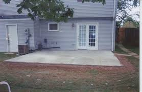 gallery for patios we also provide stained concrete installation