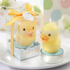 candle baby shower favors baby shower party candle rubber duck candle baby shower