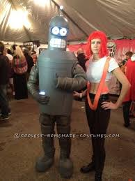 Futurama Halloween Costumes Cool Homemade Halloween Costume Bender Futurama