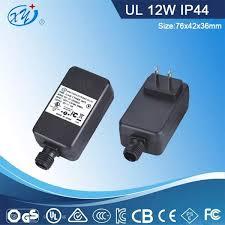 rainproof power supply 12v 1a christmas light power supply with ul