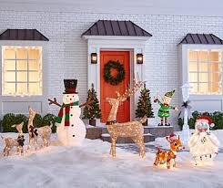 Polar Bear Family Christmas Decoration Lights by Outdoor Christmas Decorations Big Lots