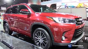 toyota 2017 usa 2017 toyota highlander se awd exterior and interior walkaround