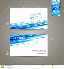 business card vector blue light line is about network relationship
