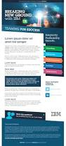 breaking new ground with ibm email design graphic design