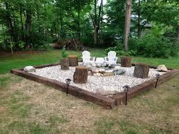 Firepit Area Picture 4 Of 50 Pit Landscaping Inspiration For