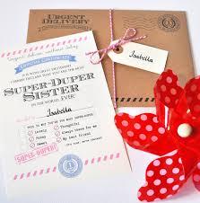 Wedding Gift For Sister Personalised U0027best Sister U0027 Certificate By Eskimo Kiss Designs