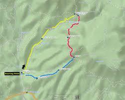 Arizona Time Zone Map by Horton Creek U2013 Highline U2013 Derrick Trail Loop Payson Arizona