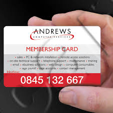 Networking Business Card Examples Membership Cards