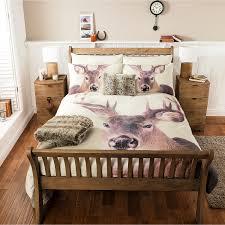Bedroom Furniture Asda George Home Christmas Photographic Stag Duvet Range Bedding
