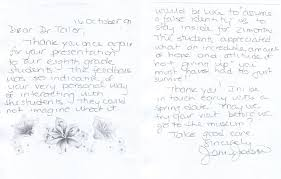 genidu thank you letter for interview email