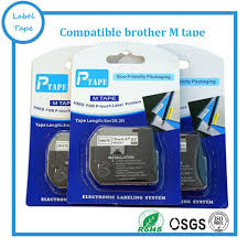 how to install brother p touch tape 3pk lot p touch printer label tape brother m k231 mk231 black on