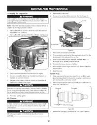 page 25 of craftsman lawn mower pyt 9000 user guide