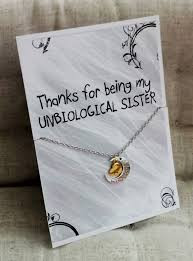 thank you for being my unbiological sister love you mom christmas