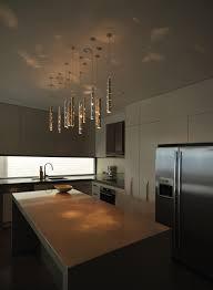 cool modern kitchen track lighting hanging light fixtures island
