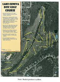 map of lake geneva wi white river disc golf course announcements lake geneva