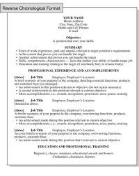resume chronological order outstanding what is reverse chronological order resume 97 in