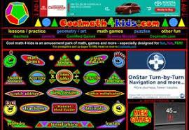 education world site review cool math 4 teachers