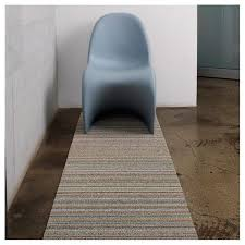 Utility Runner Rugs Chilewich Shag Skinny Stripe Utility Mat Color Soft Multi Door