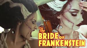 Monster Bride Halloween Costume Bride Of Frankenstein Halloween Tutorial Halloween My Favorite