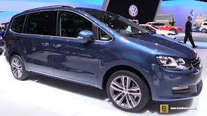 volkswagen models 2016 2016 volkswagen sharan tdi exterior and interior walkaround