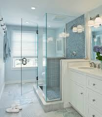 glass bathroom tiles ideas lovely blue glass bathroom tile about home remodeling ideas with