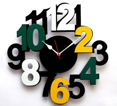 modern big wall clocks best decor things