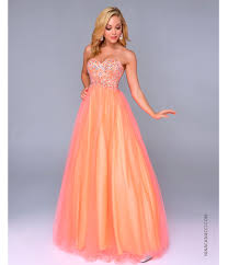 quinceanera dresses 2014 sun set like look in the orange prom dresses worldefashion