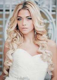 Frisuren Lange Haare Gesteckt by Stillvolle Brautfrisur Curlies Ideen Für Lange Haare Offen