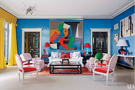 Houston Interior Painting Miles Redd Decorates An Eclectic Houston Mansion Photos