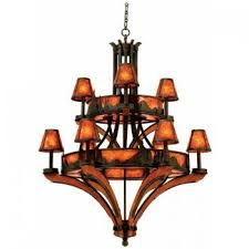 Adirondack Chandeliers Rustic Lighting The Cabin Shop