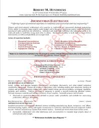 Best Canadian Resumes by Electrician Resume Sample Berathen Com