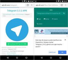 telegram apk file como baixar o app do telegram via apk dicas e tutoriais techtudo