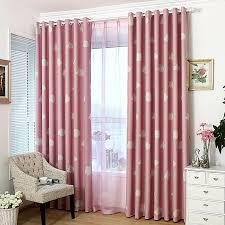 Nursery Pink Curtains Blue Curtain Cloud Nursery Bed Curtain Shade Cloth