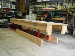 motorcycle lift table plans diy motorcycle table diy unixcode