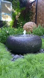 bubbling water fountain garden water features fountains bird
