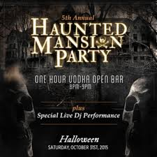 haunted mansion party lucky strike new york ny october 31 2015
