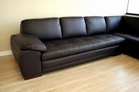 tufted chaise sofa tufted leather right facing chaise modern sectional sofa