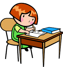 Kid At Desk by Kid Writing Clipart Gallery Clip Art Library
