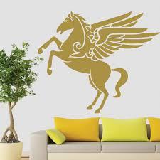 pegasus wall sticker unicorn wall art