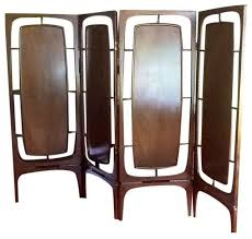 Mid Century Room Divider Mid Century Modern Divider Screens And Room Dividers By Chairish