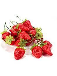 Decorative Ways To Cut Strawberries Shop Amazon Com Artificial Fruit