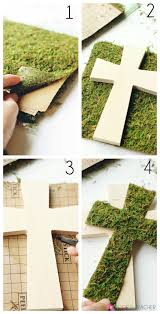 Diy Easter Cross Crafting
