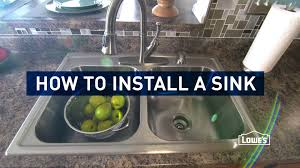 Replacing Kitchen Faucets by Kitchen How To Install Kitchen Sink Pipes Under Kitchen Sink